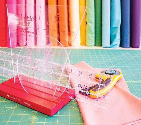 Sew Together Ruler Pal - Red