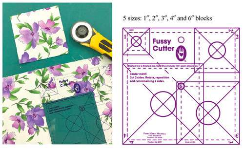 Fussy Cutter by Marti Michell