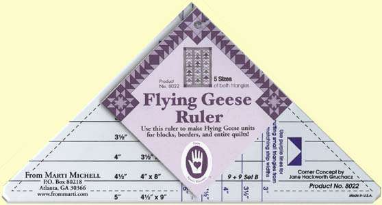 Flying Geese Ruler by Marti Michell