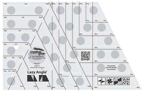 Lazy Angle Ruler - Creative Grids CGR3754
