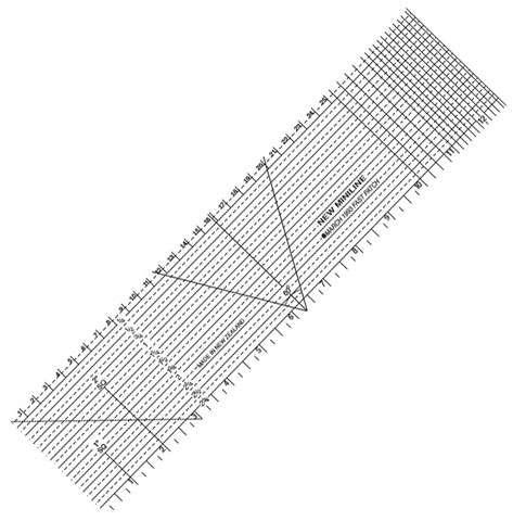 """Miniline Ruler (12.5"""" x 3"""") - FastPatch"""