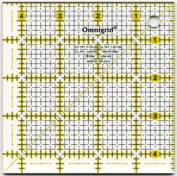 """Omnigrid Square - 4-1/2"""" x 4-1/2"""" preview"""
