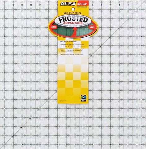"""Olfa Quilter's Ruler 16.5"""" Square preview"""