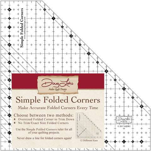 Simple Folded Corner Ruler