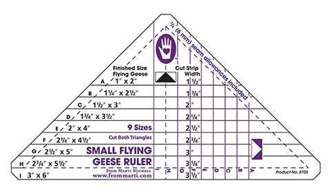 Small Flying Geese Ruler by Marti Michell preview