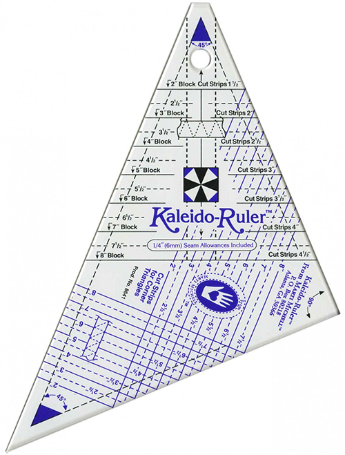 """Kaleido-Ruler by Marti Michell 2"""" to 8"""" (Small) (8641) preview"""
