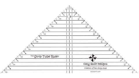 Strip Tube Ruler by Cozy Quilt Designs preview