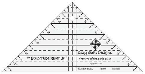 Strip Tube Ruler - Junior by Cozy Quilt Designs preview