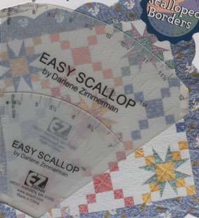 Easy Scallop Tool by Darlene Zimmerman