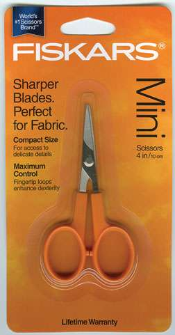 Fiskars 4in Mini Craft Scissors