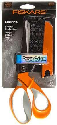 Fiskars Razor Edge Softgrip Scissors No. 9