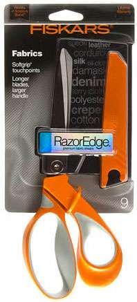Fiskars Razor Edge Softgrip Scissors No. 9