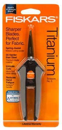 Fiskars Soft Touch Titanium Scissors No. 5