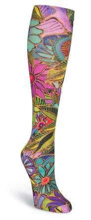Laurel Burch Knee High Socks - All Over Floral