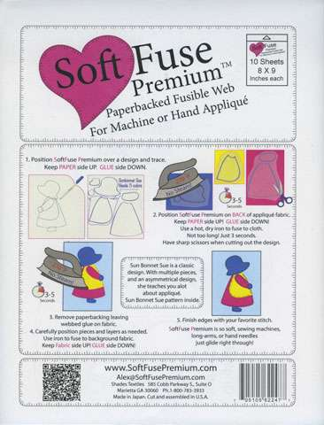 Soft Fuse Paper Backed Fusible Web preview