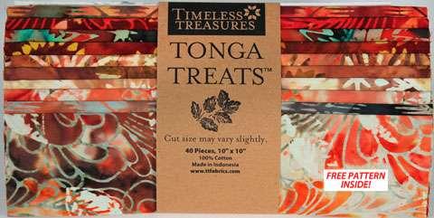 """Tonga Treats 10"""" Square Pack - Copper"""