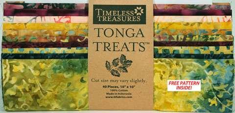 "Tonga Treats 10"" Square Pack - Gypsy"