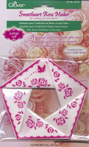 Clover Sweetheart Rose Maker - Large