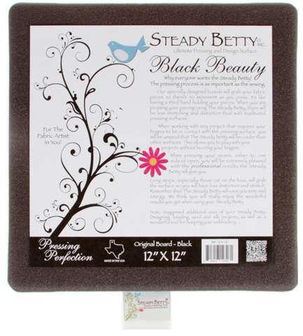 Steady Betty 12in x 12in - Black Beauty