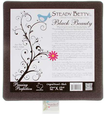Steady Betty 12in x 12in - Black Beauty preview