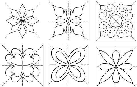 Full Line Stencil Score of Four