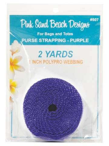 Purse Strapping - Purpler - (1in x 2yds)