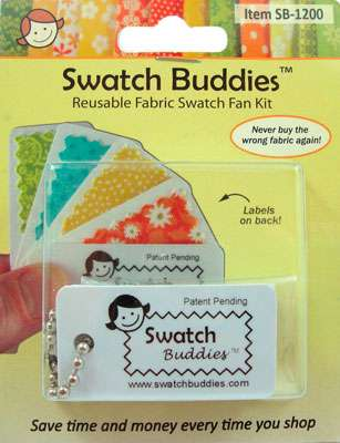 Swatch Buddies Fabric Fan (12ct)