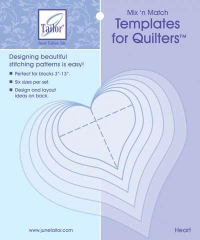 Mix 'n Match Heart Templates