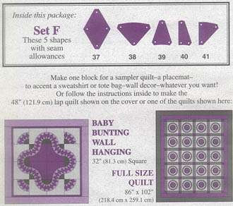 Template Set F by Marti Michell preview