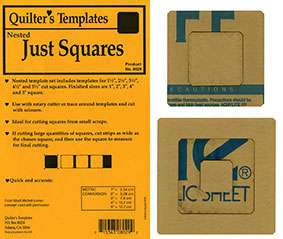 Just Squares by Marti Michell