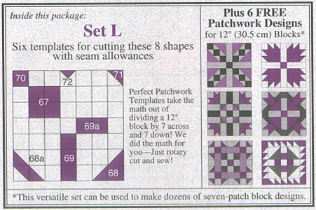 Template Set L by Marti Michell preview