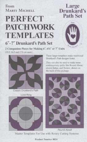 Large Drunkard's Path Template Set