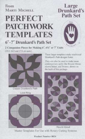 Large Drunkard's Path Template Set  preview
