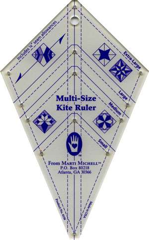 Multi-Size Kite Ruler - Marti Michell