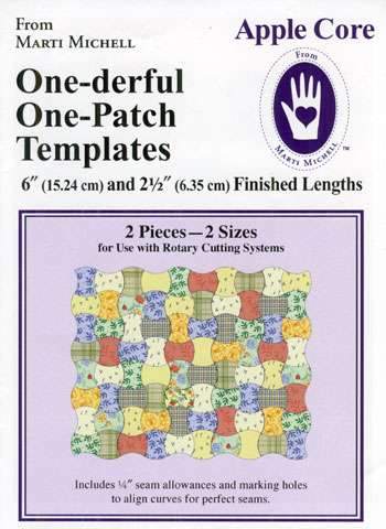One-derful One Patch Apple Core by Marti Michell preview