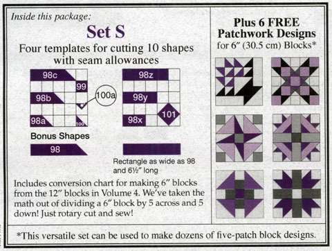 Template Set S by Marti Michell preview