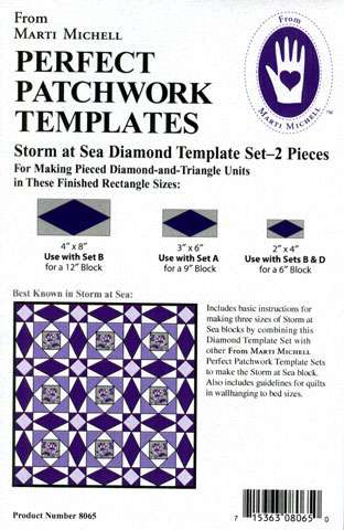 Storm At Sea Diamond Template Set by Marti Michell