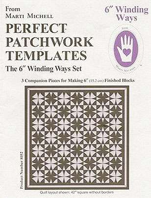 """6"""" Winding Ways Template Set by Marti Michell preview"""