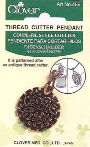 Clover Pendant Thread Cutter (Silver)