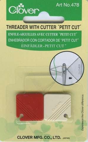 """Clover Threader with Cutter """"Petit Cut"""""""
