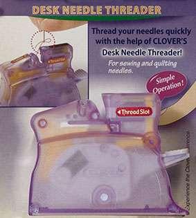 Clover Desk Needle Threader