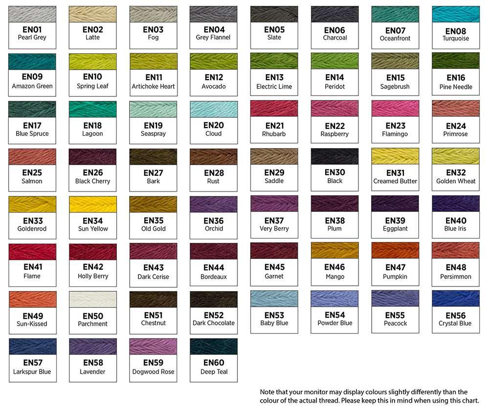 Ellana 28wt Merino Wool/Acrylic Blend Thread preview