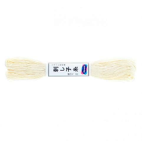 Olympus Sashiko Thread - Off White (02) (22yd skein) preview