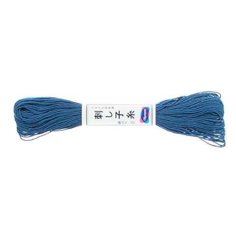 Olympus Sashiko Thread - Cobalt Blue (10) (22yd skein) preview