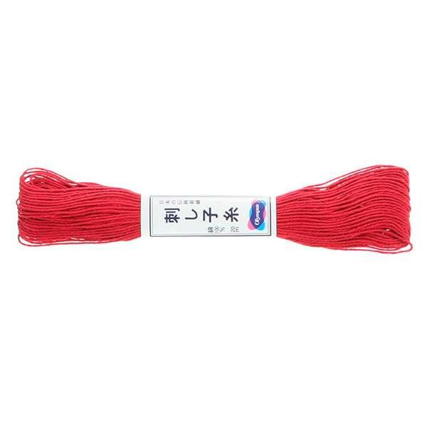 Olympus Sashiko Thread - Rose Red (12) (22yd skein) preview