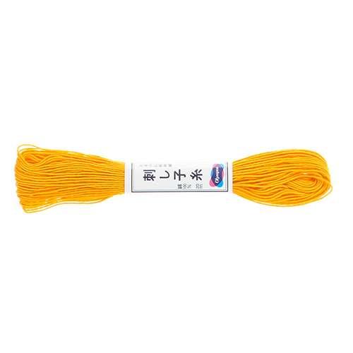 Olympus Sashiko Thread - Yellow (16) (22yd skein)  preview