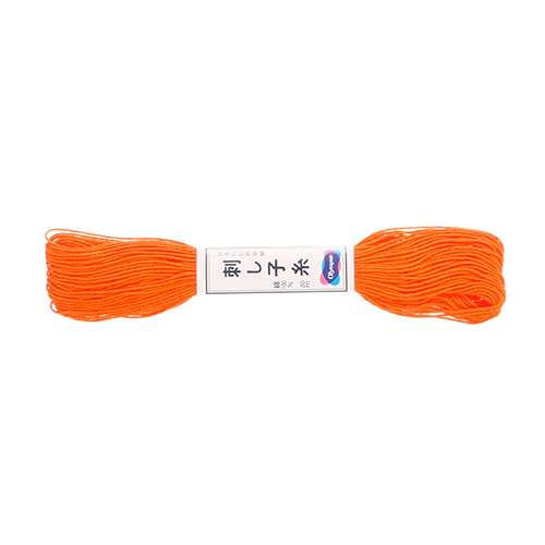 Olympus Sashiko Thread - Orange (22) (22yd skein)  preview