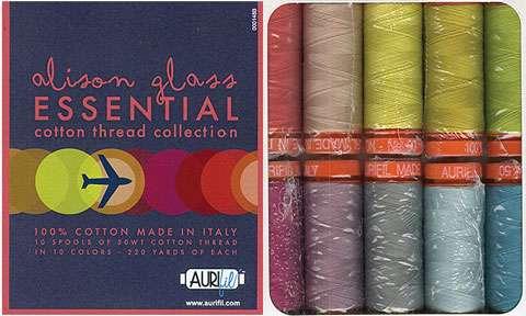 Aurifil Cotton Thread Collection - Alison Glass Essential