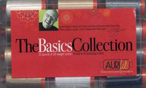 Mark Lipinski's Basics Collection - Aurifil Thread Set