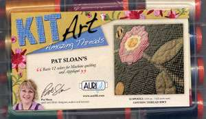 Pat Sloan's Kit Art - Aurifil Thread Set